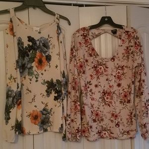 Two Daytrip Floral Tops